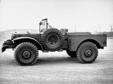 Side View of Army Truck