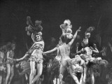 Dancers Performing at the Folies Bergere
