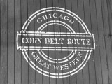 Chicago Great Western Line Boxcar Showing Logo