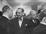 Director St Louis Grand Opera Laszlo Halasz Talking with Others