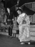 "Actors Performing Scene from ""The Mikado"""