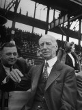 Connie Mack  Watching a Cardinals Baseball Game