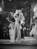 "Actress Lucille Ball Performing in a Scene from the Movie ""The Ziegfeld Follies"""