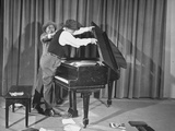 Comedian Jimmy Durante and Partner Eddie Jackson Performing their Act