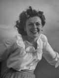 Portrait of Actress Barbara Hale