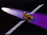 Artist&#39;s Conception of Deep Space 1 Robotic Spacecraft