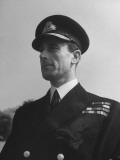 Lord Louis Mountbatten in Uniform During WWII