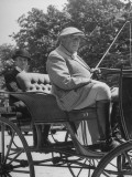 Dean of Horsey Set F Ambrose Clark  Driving the Horse Carriage