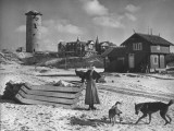Little Town of Domburg Battered by WWII Shelling