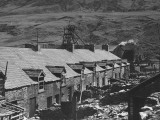 A View Showing the Uncondemned Houses at Blaen-Y-Cwm