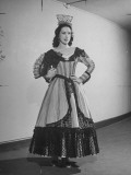 Opera Singer Patrice Munsel in Costume for One of Her Roles