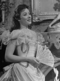 Close-Up of Actress Greer Garson Performing in &quot;Mrs Parkington&quot;
