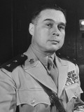 Filipino Major General Basilio Valdes  Chief of Staff of Philippine Army  Prior to War with Japan