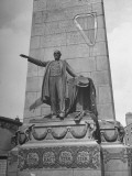 A View of a Monument to Irish Hero Charles Stewart Parnell