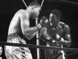 Boxers Joe Louis and Ezzard Charles Battling During a Bout