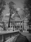 The Boston Statehouse