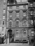 A View of a House on Beacon Street