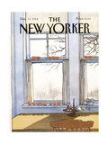 The New Yorker Cover - November 19  1984