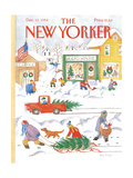 The New Yorker Cover - December 10  1984