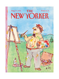 The New Yorker Cover - August 27  1990
