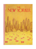 The New Yorker Cover - February 18  1974