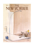 The New Yorker Cover - March 25  1985