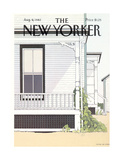 The New Yorker Cover - August 9  1982