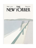 The New Yorker Cover - September 2  1985