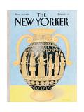 The New Yorker Cover - November 20  1989