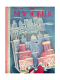 The New Yorker Cover - February 15  1947