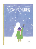 The New Yorker Cover - January 30  1984