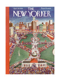 The New Yorker Cover - April 28  1934