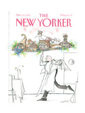 The New Yorker Cover - March 19  1990