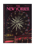 The New Yorker Cover - October 21  1985