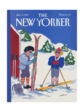 The New Yorker Cover - January 9  1989
