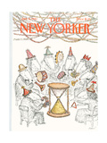 The New Yorker Cover - January 4  1982