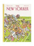The New Yorker Cover - September 23  1985