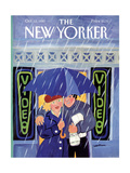 The New Yorker Cover - October 12  1987