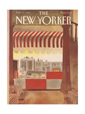The New Yorker Cover - February 11  1985