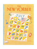 The New Yorker Cover - July 11  1988