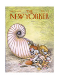 The New Yorker Cover - April 11  1988