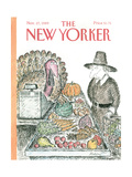 The New Yorker Cover - November 27  1989