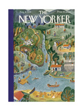 The New Yorker Cover - August 18  1934