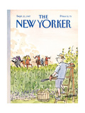 The New Yorker Cover - September 21  1987