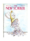 The New Yorker Cover - August 13  1990