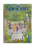 The New Yorker Cover - July 7  1980