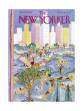 The New Yorker Cover - April 21  1928
