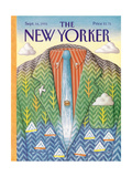 The New Yorker Cover - September 16  1991