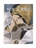 The New Yorker Cover - April 3  1989