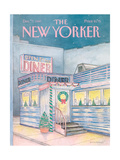 The New Yorker Cover - December 7  1987